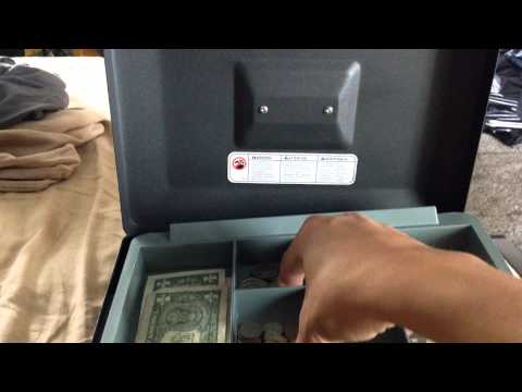 Sentry safe medium money box