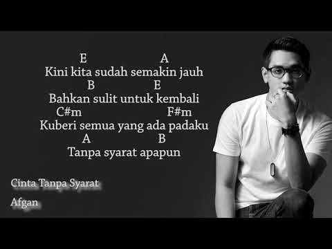 Chord & Lirik | Afgan - Cinta Tanpa Syarat (OST. Love London Story 3) - BendTwo Music