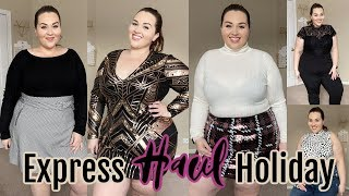 EXPRESS Holiday Glam Try-On Haul | Sarah Rae Vargas
