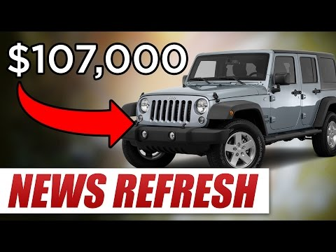 Why Does A Jeep Wrangler Cost $107,000 In India? Mp3