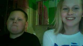 Me and Daniel Singing- I'm Yours