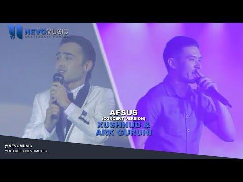 Xushnud & Ark guruhi - Afsus | Хушнуд - Афсус (concert version)