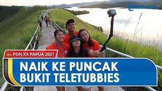 Naik ke Puncak Bukit Teletubbies Jayapura untuk Lihat Danau Sentani dan Pegunungan Cycloop