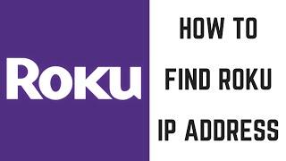 How to Find Roku IP Address