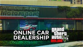 GTA 5 Online Super Car Dealerships! Test Drive Cars Before Buying? (GTA 5)