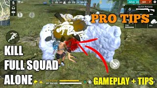 Download Free Fire How To Kill Full Squad Rank Pro Tips