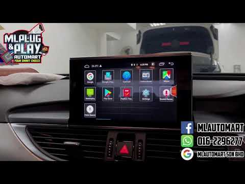 Audi A6 Touch Screen Android Monitor