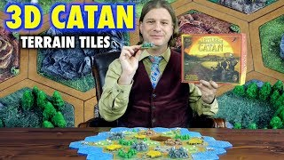 A Review of 3D Settlers of Catan Terrain Game Tiles by Leifkicker
