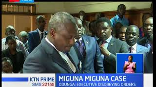 High Court orders Dr. Fred Matiangi, Joseph Boinnet and Gordon Kihalangwa to appear in court