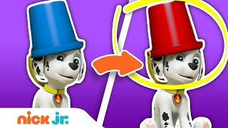 Spot the Difference w/ PAW Patrol & Blue's Clues & You! | Nick Jr.
