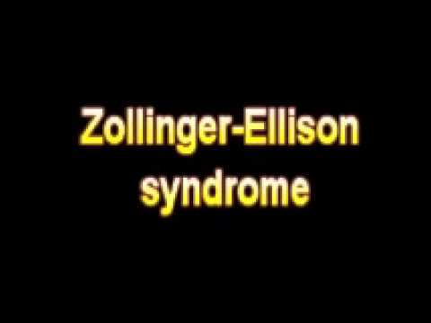 Video What Is The Definition Of Zollinger Ellison syndrome