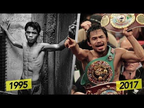 La desgarradora historia de Manny Pacquiao