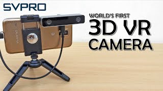 Record in 3D! SVPRO 3D VR camera Unboxing Review with VR footage.