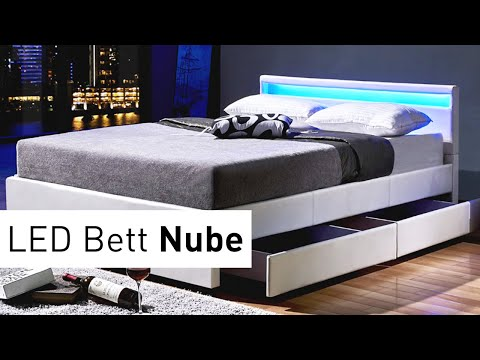 LED BETT NUBE MONTAGVIDEO | HOME DELUXE MONTAGESTUDIO