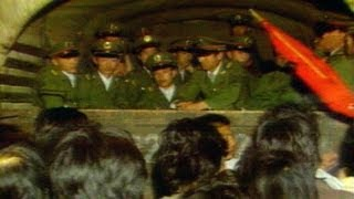 Tiananmen Square Protests 1989: Standoff Between People's Army and Demonstrators