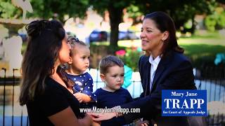 It's why we vote for judges | Vote For Mary Jane Trapp