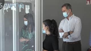 Los Reyes visitan las instalaciones de la empresa das-Nano