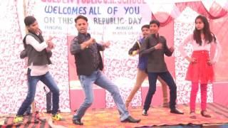 Teri Aakhya Ka Yo Kajal  stage dance - Golden public junior high school , jahangirabad bulandshahr