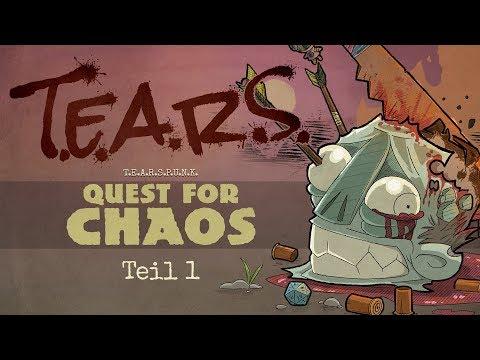 Pen and Paper: T.E.A.R.S. PUNK    Teil 1 des Abenteuers Quest for Chaos der Wrestler in der Endzeit