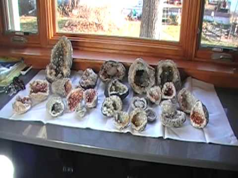 Rare Keokuk Geode Collection