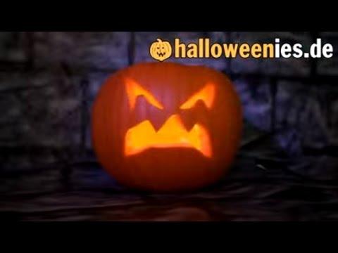 Halloween Kürbis schnitzen - Kürbisgesichter