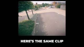 What does an FPV drone look like when its doing the flippy flops #shorts