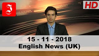 News English UK 15th Nov 2018