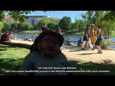 Kurzvideo : Inklusion ein Grundrecht, Raul Krauthausen anlässlich des nestwärme KITA Jubiläums