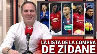 Manu Sainz Y La Lista De La Compra De Zidane Y El Real Madrid Para La 2019-20 | Diario AS