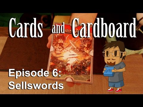 Sellswords Review - Cards and Cardboard