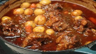 Mouth Watering Oxtail Stew Recipe!