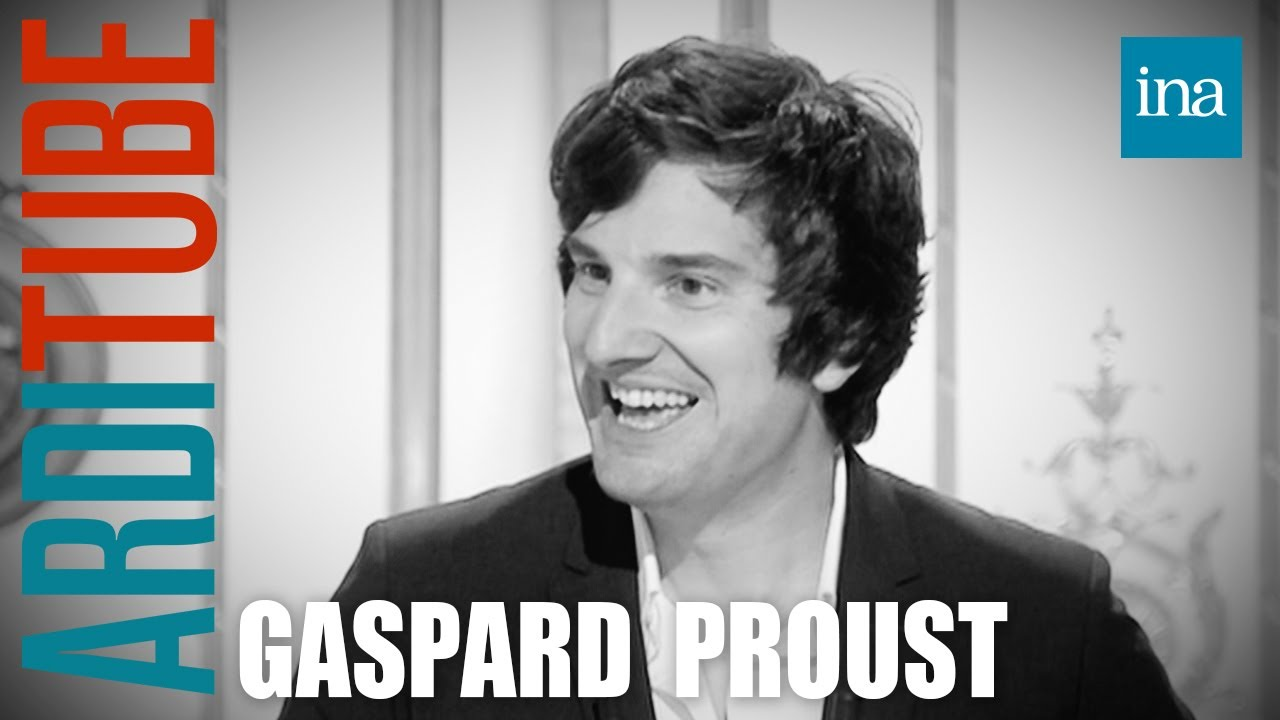 """Gaspard Proust """"Elle Est Pas Belle La Vie ?"""" chez Thierry Ardisson : 12/10/2013   INA Arditube"""