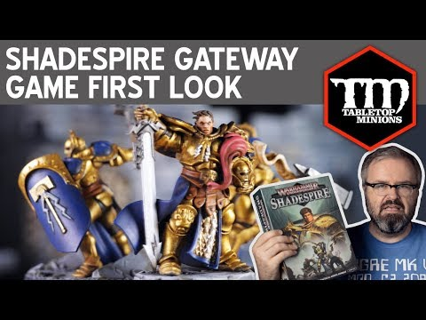 Shadespire New Gateway Game – First Look