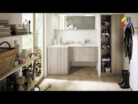 Burgbad: Waschtisch mit Waschmaschine