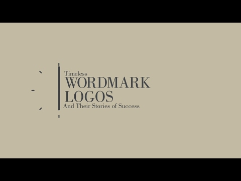 Timeless Wordmark Logos and their Story of Success