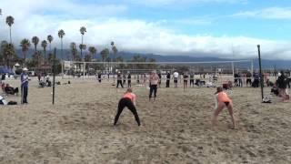AAU Beach Volleyball Elite Power League 020814 1
