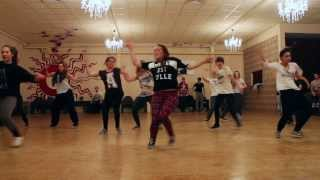 Dancehall Choreography 'Konshens - Happy Time' by Valerie Maene
