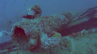 4 /18/ 2016 scuba diving log: 1st dive - LST, Subic Bay, Philippines