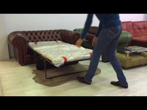 Как раскладывается механизм дивана французская раскладушка?