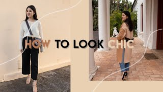 Easy Style Tips To Always Look Chic And Put Together