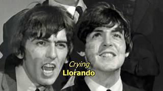 Crying, Waiting, Hoping - The Beatles (LYRICS/LETRA) [Original]