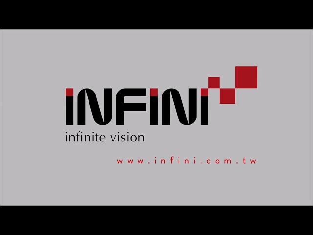 Видео Фара Infini Tron 300 черная