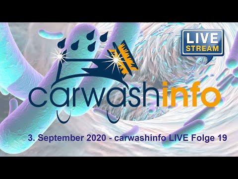 carwashinfo LIVE Folge 19 3. Sept. 2020