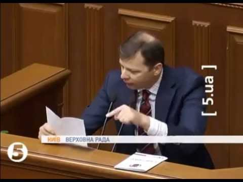 Ляшко vs Азаров (видео)