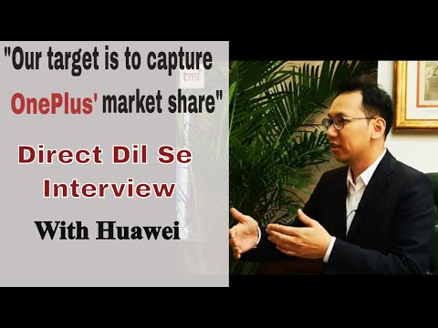 We want to grab OnePlus's market Share: Huawei