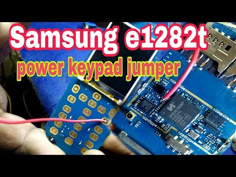 Download Samsung E1282t Power Keypad Jumper Very Simply 100 Working