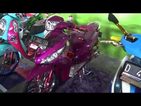 Video Modifikasi Yamaha Mio J ala thailook