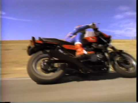 80s Honda Nighthawk S Commercial