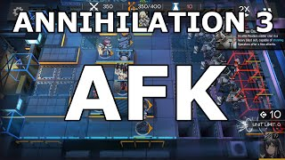 Blue Poison  - (Arknights) - Arknights - AFK Annihilation 3 (feat. Blue Poison and Ifrit)