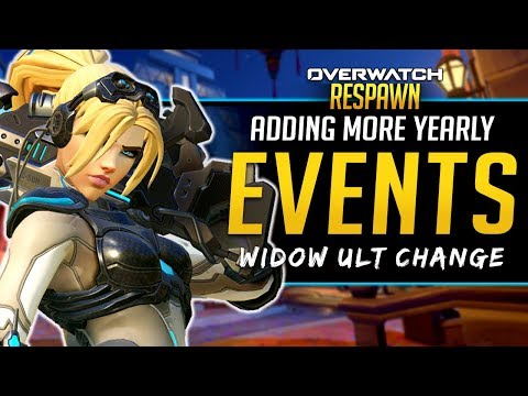 Overwatch Respawn #52 - More Yearly Events, Widow Ult Change?